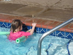 Waterproofing a child -- Maui 2012