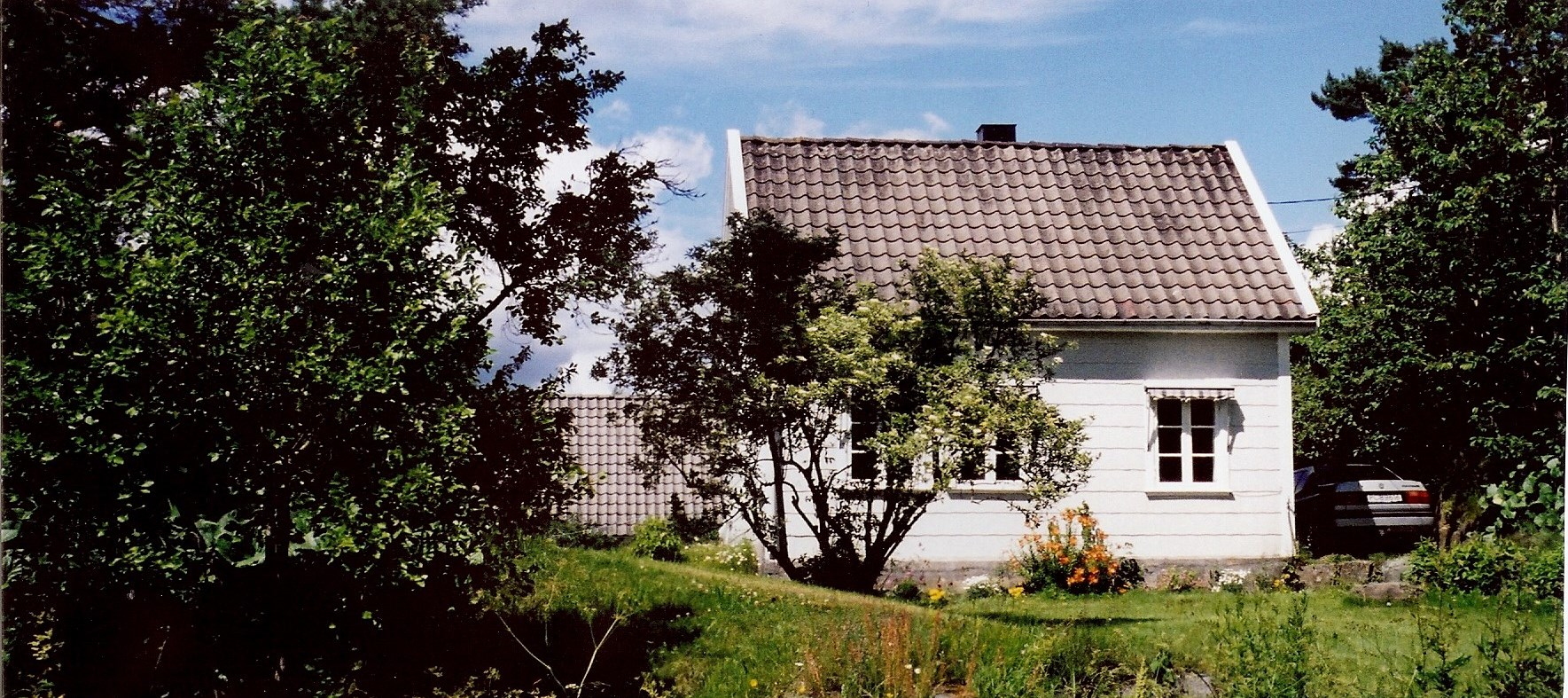 Grandmother Gunhild's childhood house in Norway