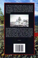 Back cover of 'from Fjord to Floathouse, One Family's Journey from the Farmlands of Norway to the Coast of British Columbia'